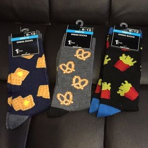 Men's dress socks (pretzels)